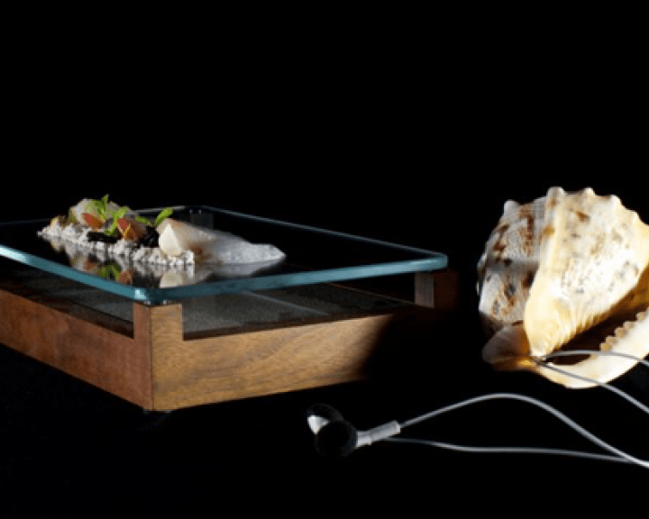 Plat « Sound of the sea » du chef Heston Blumenthal
